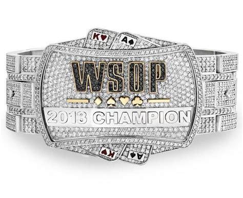 Nearly $1 Million 2013 World Series of Poker Championship Bracelet Made by Jason of Beverly Hills