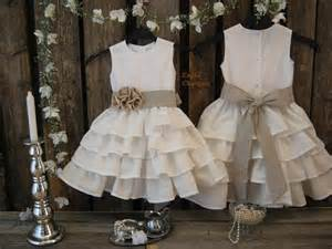 country wedding flower dresses flower dresses rustic wedding