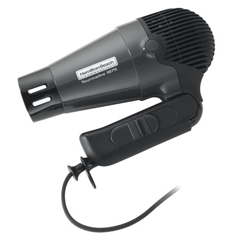 Hair Dryer With Diffuser And Retractable Cord hamilton commercial hhd601 1875 watt held tourmaline hair dryer w retractable cord