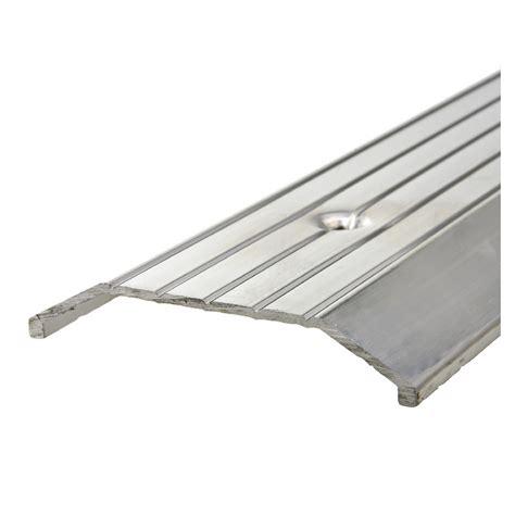 shop king 3 x 5 x 36 silver metal door threshold at