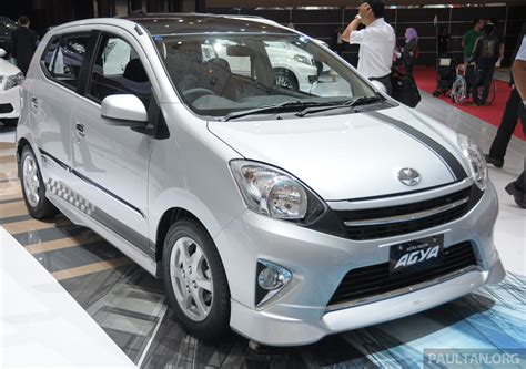 Toyota Indonesia Gallery Toyota Agya At Iims Cheap Green City Car