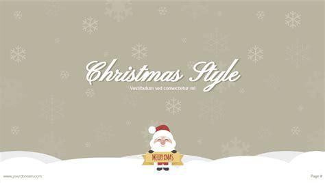 christmas theme google slides free powerpoint template google slides theme for