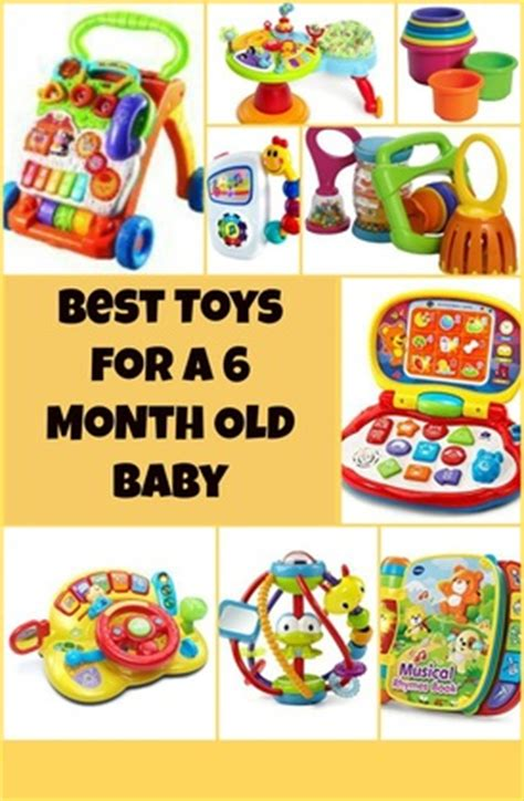 6 month old babies toys for kids