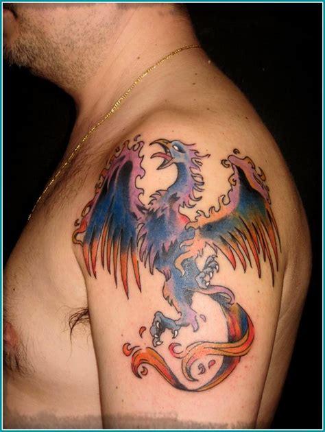 imagenes tatuajes fenix imagenes de tatuajes de ave fenix para hombres los