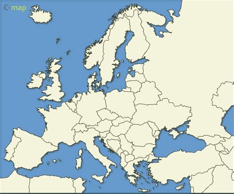 vector europe map free vector map of europe countries