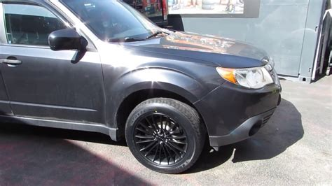 black subaru rims 2010 subaru forester with 17 inch black rims tires