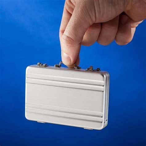 Miniature Briefcase Business Card Holder adorable business card holders mini briefcase business