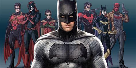 Batman Family the batman family for the dceu screen rant