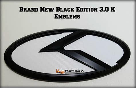 Kia 3 0 Badges K5 Optima Store New Kia 3 0 K Logo Emblem Sets Quot Black