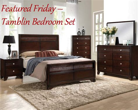 featured friday tamblin bedroom set american freight