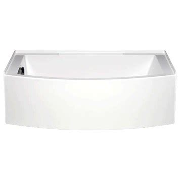 americh bathtub reviews americh mezzaluna 6032 left handed tub 60 quot x 32 quot x 20