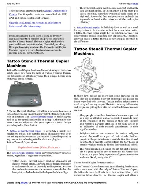 tattoo stencil printer india tattoo stencil copier tattoo thermal copier