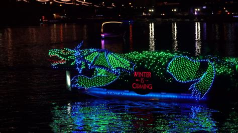 tempe fantasy of lights 2017 2017 fantasy of lights tempe boat parade 12 9 2017