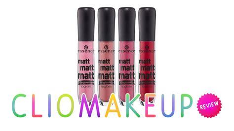 essence matt lipgloss recensione essence matt matt matt lipgloss review