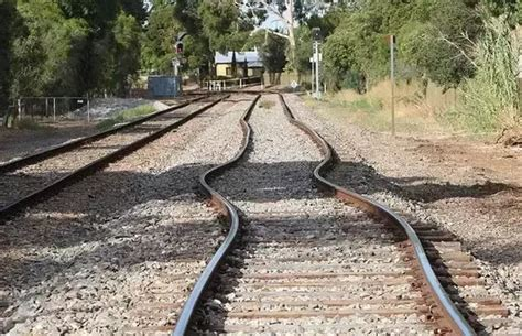 how long is a section of railroad track why are there crushed stones alongside rail tracks quora