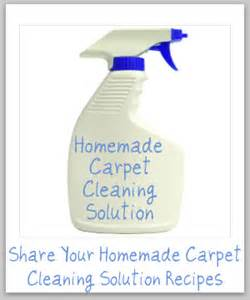 Rug Cleaning Solution Home Made Carpet Cleaners