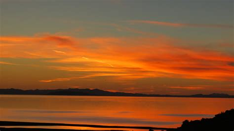 sunset color antelope island sunset peringcers blog