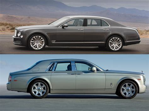 bentley vs rolls royce image