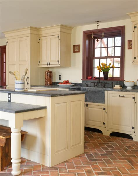 Cottage Kitchen Islands Beautiful Kitchens Just Because Town Amp Country Living