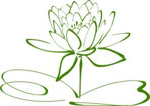 Green Lotus Green Lotus Clip At Clker Vector Clip