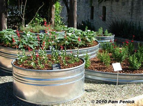 stock tank vegetable gardening stock tank planters diggingdigging