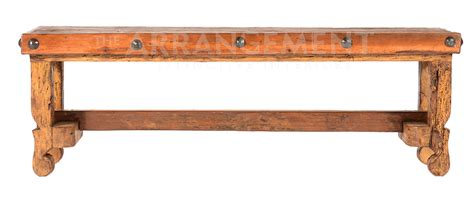 long wood bench old long wood bench rustic western furniture store