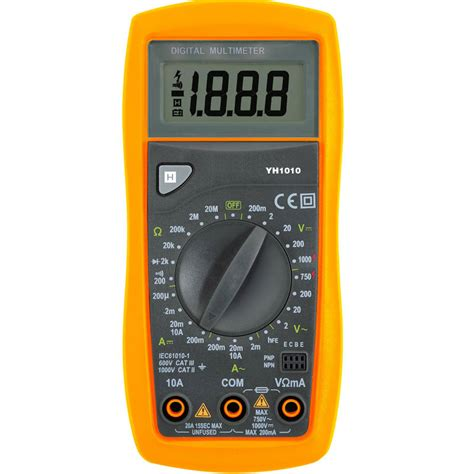 Multimeter Digital Krisbow mult 237 metro de digitaces secundario pda de la inyecci 243 n