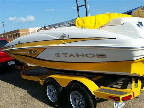 yellow tahoe boats tahoe boat for sale from usa