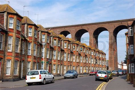 houses to buy in folkestone brick houses and bridge in folkestone uk stock photo colourbox
