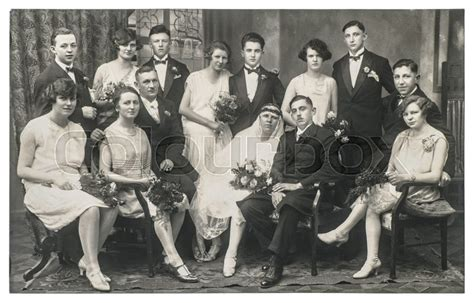 Is Vintage Fashion Really Dead by Berlin Germany Circa 1936 Family Wedding Portrait