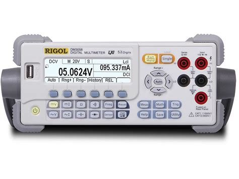 bench top multimeter rigol dm3058e 5 1 2 digit low cost benchtop digital multimeter with usb and rs 232