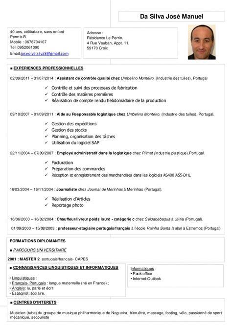 Exemple De Lettre De Démission Pour Chauffeur Routier Exemple Cv Chauffeur Livreur Permis B One Cv