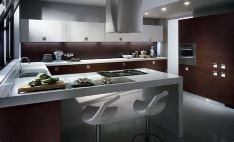 small modern kitchen design d s furniture 15 fotos de cocinas integrales modernas color chocolate
