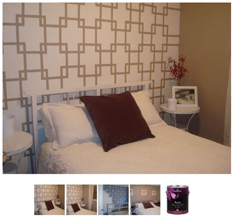 diy bedroom painting ideas painters tape project archives home and heart diy