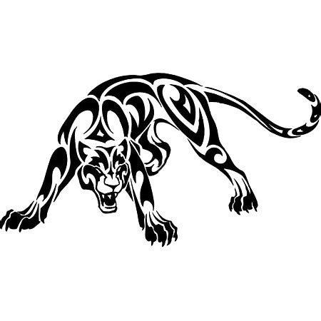 black panther tribal tattoo designs tribal panther design