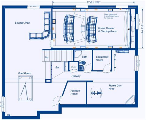 home theater design plans home theatre room floor plans