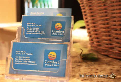 comfort inn card project showcase comfort inn vehicle wrap signage