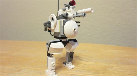lego robot tutorial build lego tutorial recon robot mech youtube