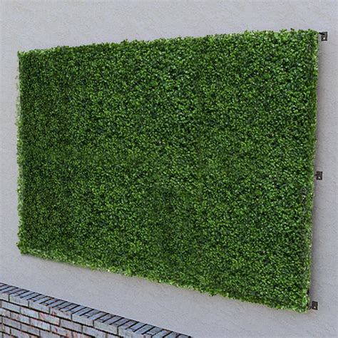 Artificial Green Wall Outdoor - artificial outdoor green wall 96 quot x 48 quot