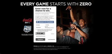 Coke Zero Sweepstakes - cokezerogr8fans com coke zero ncaa gr8 fans sweepstakes