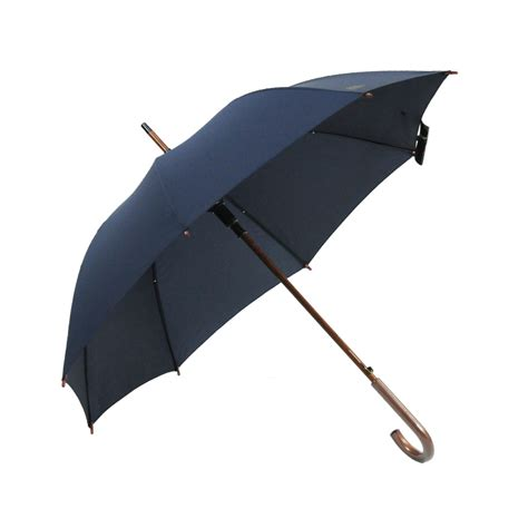 large umbrella wood hook handle stick large umbrella gentleman golf umbrella quality mens