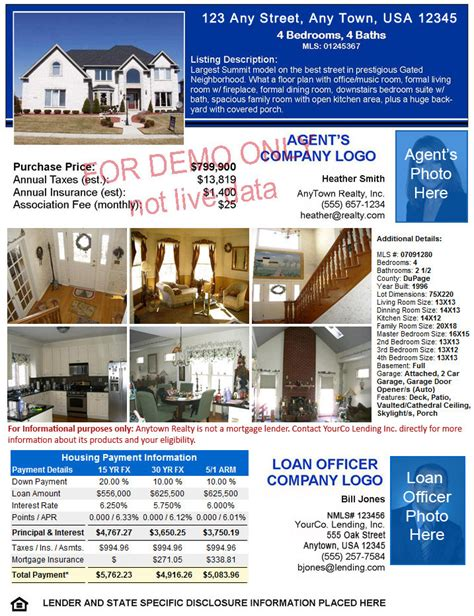 open house flyers for mortgage professionals rateplug home