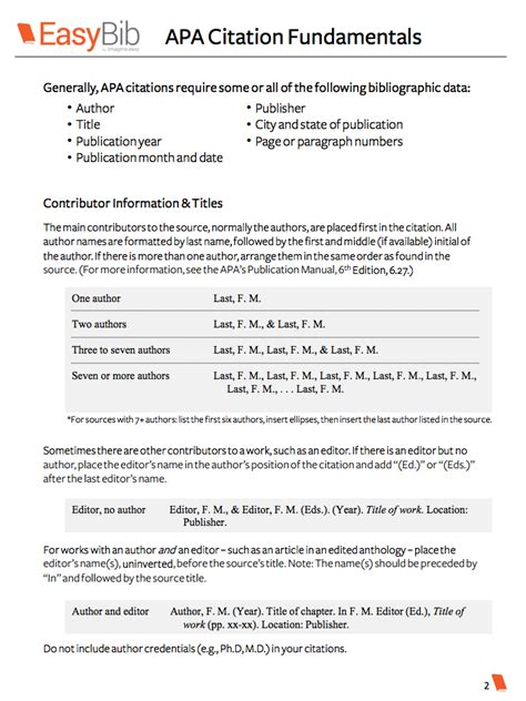 apa book reference citation exle your free apa citation basics e book