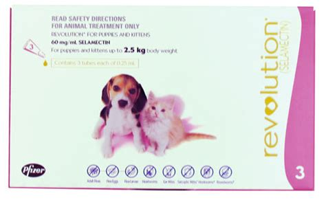 revolution puppy revolution for puppies and kittens up to 2 5kg bowhouse simply the best