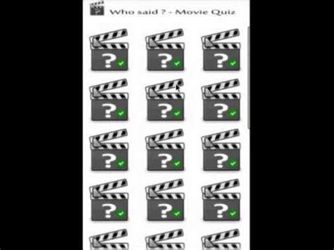 film quiz youtube who said movie quiz youtube