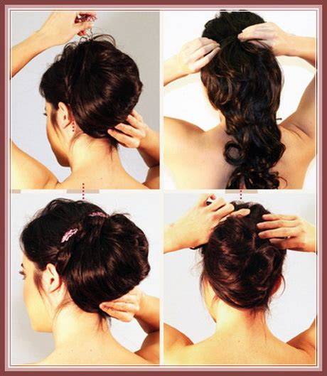 hairstyles for curly medium hair step by step prom hairstyles step by step
