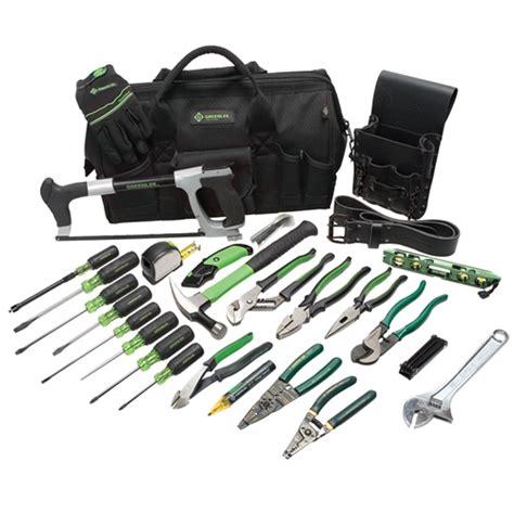 Greenlee Plumbing by Greenlee 0159 11 Master Electrician S Tool Kit 28