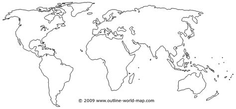 Outline Of Continent by Girlshopes