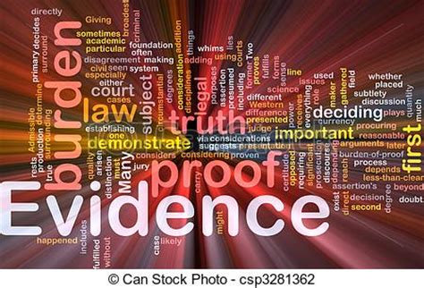 An Interesting Bit Of Hearsay by Proof Evidence Clipart
