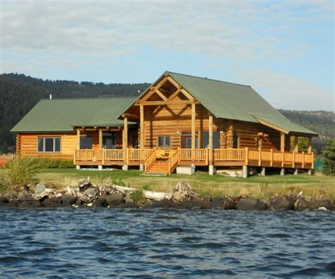 Cabin Rentals Yellowstone National Park by Yellowstone Lakefront Luxury Log Home 20 Vrbo